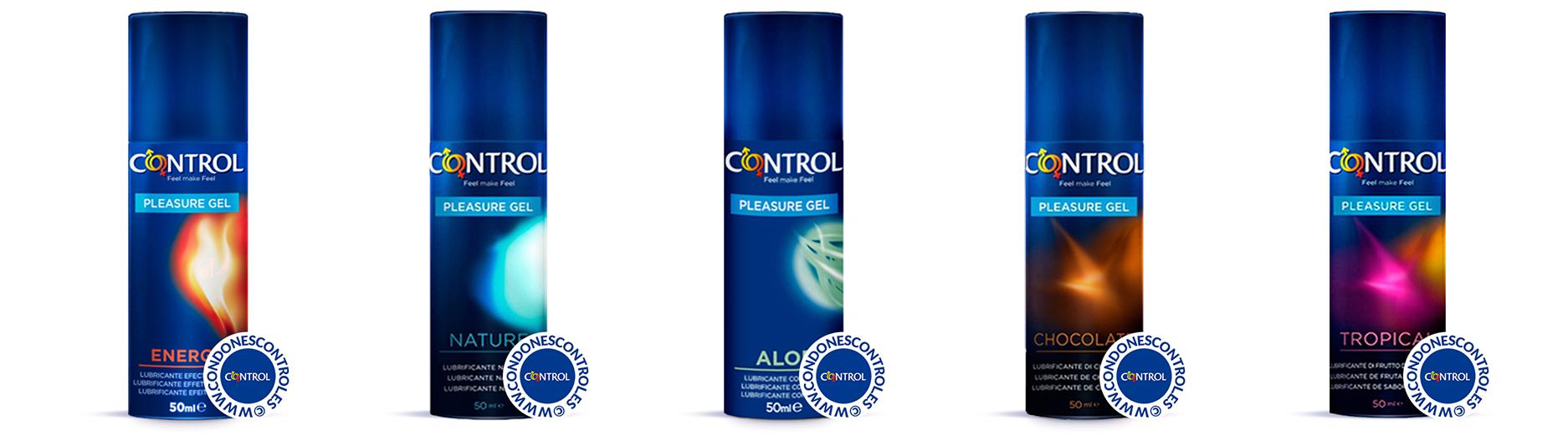 Preservativos y Lubricantes CONTROL