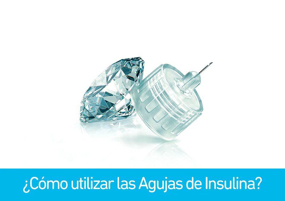 como utilizar agujas de insulina